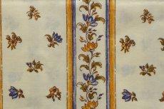 画像11: 「即納J」はぎれ80x50:撥水加工 ムスティエ(プロヴァンス、鳥、ブルー)/90g (11)