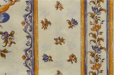 画像12: 「即納J」はぎれ80x50:撥水加工 ムスティエ(プロヴァンス、鳥、ブルー)/90g (12)