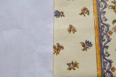画像7: 「即納J」はぎれ80x50:撥水加工 ムスティエ(プロヴァンス、鳥、ブルー)/90g (7)