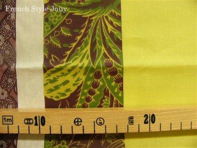 画像1: 「即納J/F」はぎれ80x50:撥水加工ボヘミアン(グリーン) /90g