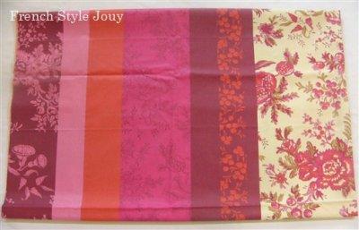 画像2: 「取寄せ」布:撥水加工ヴォワイヤージュ(ピンク)長さ50cm単位 /180g
