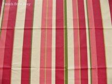 画像3: 「取寄せ」布:撥水加工リズム(ピンク)長さ50cm単位 /180g (3)