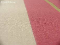 画像5: 「取寄せ」布:撥水加工リズム(ピンク)長さ50cm単位 /180g (5)