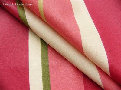 画像2: 「取寄せ」布:撥水加工リズム(ピンク)長さ50cm単位 /180g