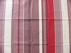画像1: 「取寄せ」布:撥水加工テンダンス(ブラウン・赤)長さ50cm単位 /180g (1)