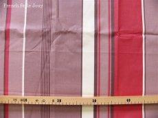 画像2: 「取寄せ」布:撥水加工テンダンス(ブラウン・赤)長さ50cm単位 /180g (2)