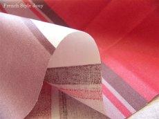 画像3: 「取寄せ」布:撥水加工テンダンス(ブラウン・赤)長さ50cm単位 /180g (3)