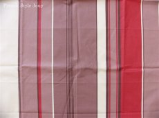 画像4: 「取寄せ」布:撥水加工テンダンス(ブラウン・赤)長さ50cm単位 /180g (4)