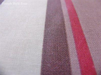 画像2: 「取寄せ」布:撥水加工テンダンス(ブラウン・赤)長さ50cm単位 /180g