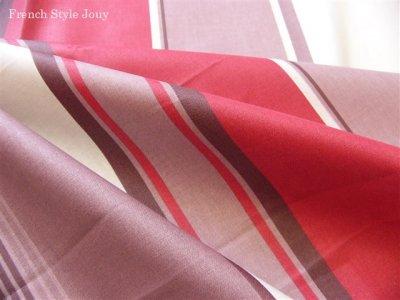 画像3: 「取寄せ」布:撥水加工テンダンス(ブラウン・赤)長さ50cm単位 /180g