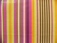 画像1: 「取寄せ」布:撥水加工ゼフィー(アニスグリーン、ピンク)長さ50cm単位 /180g (1)