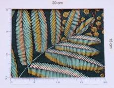 画像4: 「J即納/F在庫」はぎれ70×50:ヴィクトリア(コットン、グリーンベース) / 90g (4)