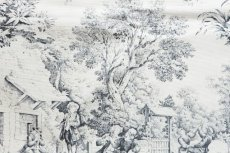 画像8: 「F在庫」はぎれ70×50:STOF村人の踊り(黒) /90g (8)