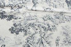 画像10: 「F在庫」はぎれ70×50:STOF村人の踊り(黒) /90g (10)