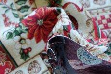画像7: 「F在庫」はぎれ70x50:ゴブラン織り ブール・ド・ノエル(クリームベース)/155g (7)