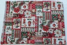 画像2: 「F在庫」はぎれ70x50:ゴブラン織り ブール・ド・ノエル(クリームベース)/155g (2)