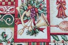 画像10: 「F在庫」はぎれ70x50:ゴブラン織り ブール・ド・ノエル(クリームベース)/155g (10)