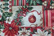 画像11: 「F在庫」はぎれ70x50:ゴブラン織り ブール・ド・ノエル(クリームベース)/155g (11)