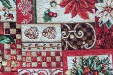 画像15: 「F在庫」はぎれ70x50:ゴブラン織り ブール・ド・ノエル(クリームベース)/155g (15)