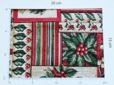 画像4: 「F在庫」はぎれ70x50:ゴブラン織り ブール・ド・ノエル(クリームベース)/155g (4)