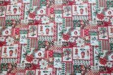 画像5: 「F在庫」はぎれ70x50:ゴブラン織り ブール・ド・ノエル(クリームベース)/155g (5)