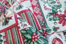 画像6: 「F在庫」はぎれ70x50:ゴブラン織り ブール・ド・ノエル(クリームベース)/155g (6)