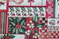 画像14: 「F在庫」はぎれ70x50:ゴブラン織り ブール・ド・ノエル(クリームベース)/155g (14)