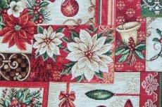 画像8: 「F在庫」はぎれ70x50:ゴブラン織り ブール・ド・ノエル(クリームベース)/155g (8)