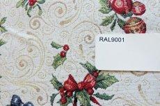 画像16: 「F在庫」はぎれ70x50:ゴブラン織り オーナメント・ノエル(クリームベース)/155g (16)