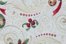 画像9: 「F在庫」はぎれ70x50:ゴブラン織り オーナメント・ノエル(クリームベース)/155g (9)
