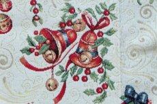 画像10: 「F在庫」はぎれ70x50:ゴブラン織り オーナメント・ノエル(クリームベース)/155g (10)