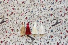 画像11: 「F在庫」はぎれ70x50:ゴブラン織り ミシン&メルスリー(ナチュラルベース)/155g (11)