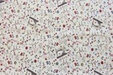 画像6: 「F在庫」はぎれ70x50:ゴブラン織り ミシン&メルスリー(ナチュラルベース)/155g (6)