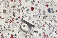 画像9: 「F在庫」はぎれ70x50:ゴブラン織り ミシン&メルスリー(ナチュラルベース)/155g (9)