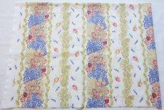 画像2: 「J即納」はぎれ80×50:ロゼ・エ・ラヴァンデ(ブルー・ローズ) (2)