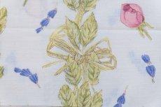 画像6: 「J即納」はぎれ80×50:ロゼ・エ・ラヴァンデ(ブルー・ローズ) (6)