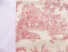 画像11: 「取寄せ」布:復刻版tdj四季の喜び(トワル、白ベース赤)長さ50cm単位 /160g (11)
