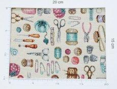 画像4: 「J即納」はぎれ70×48:ゴブラン織り アルシェ・ド・クチュール / 150g (4)