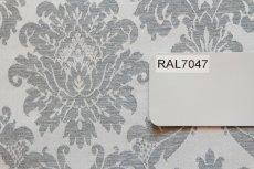 画像8: 「F在庫」はぎれ70×50:リシュリュー(ダマスク、2色グレイ) (8)