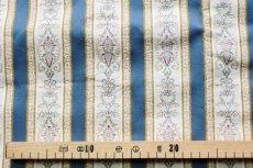 画像3: 「F在庫」はぎれ70x50:ビーダーマイヤー(ジャカード、ブルー)/90g (3)