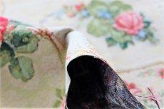 画像6: 「J即納」はぎれ70x50:ゴブラン織り ブーケ・レター(ライトアイボリーベース赤)/175g (6)