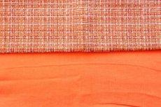 画像7: 「F在庫」はぎれ70×50:ラーヴ(色番88マンダリン、麻) (7)