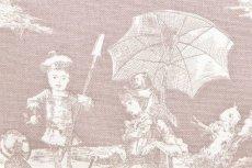 画像16: 「即納F」布:水の物語(ベージュベース) /380g (16)