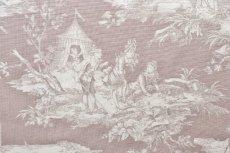 画像12: 「即納F」布:水の物語(ベージュベース) /380g (12)
