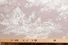 画像5: 「即納F」布:水の物語(ベージュベース) /380g (5)