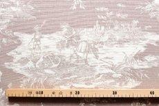 画像4: 「即納F」布:水の物語(ベージュベース) /380g (4)