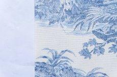 画像5: 「即納F」布:水の物語(白ベースブルー)140×200cm /760g (5)