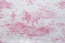 画像9: 「即納J」はぎれ70×50:水の物語(白ベースボルドー) /95g (9)