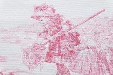 画像15: 「即納J」はぎれ70×50:水の物語(白ベースボルドー) /95g (15)