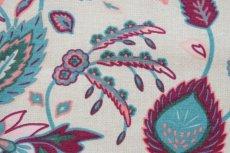 画像11: 「即納J」はぎれ70×50:鳥と花(クリームベース)/105g (11)